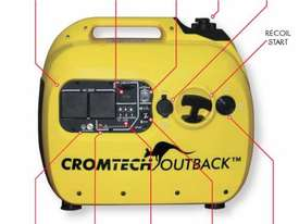 Cromtech Outback Portable Camping Generator - CTG2500i - picture5' - Click to enlarge