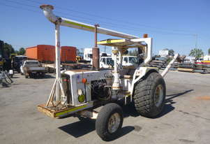 Circa 1970 Chamberlain 2x4 Tractor with Stalker PTO Driven Stan Pipe Pump - In Auction