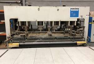 Wemhoner Vacuum Door Press