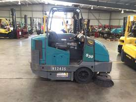 Ride-on Sweeper/Scrubber - picture0' - Click to enlarge