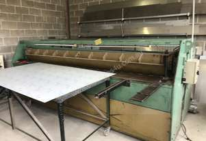Just In - 2500mm x 4mm Hydraulic Guillotine