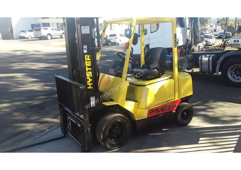 Hyster Forklift 2.5 Ton 4300mm Lift Container Mast Side Shift LPG $13000+gst