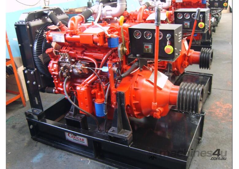 Cougar K-4100ZP Diesel Engine 57.0HP + Monitor Sys