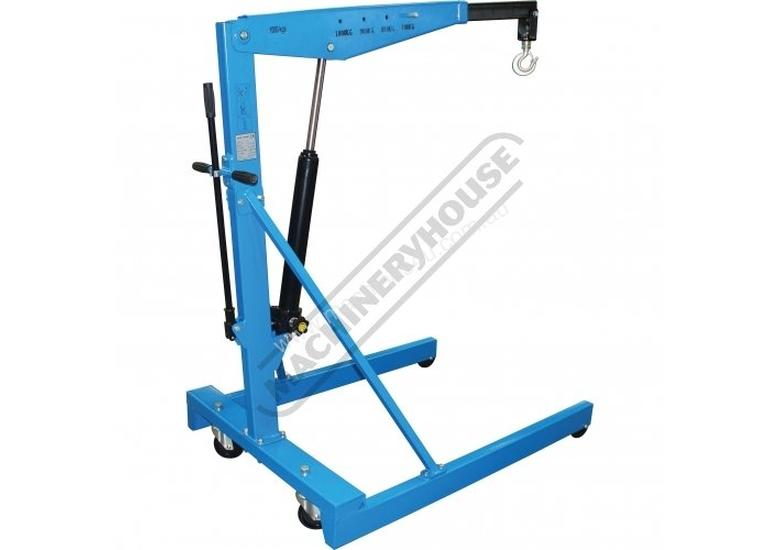 ALP-3 Automotive Lifting Mechanics Package Deal Includes Engine Crane, Engine Stand, Trolley Jack, A