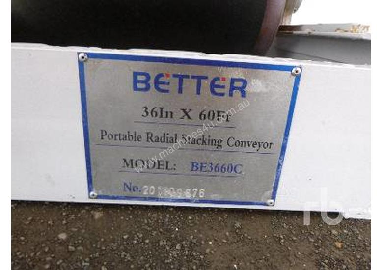 BETTER BE3660C Radial Stacking Conveyor