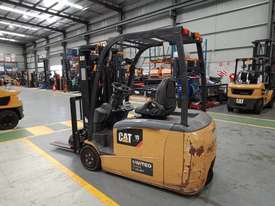 CAT 1.8T Used Electric 3-Wheel Forklift GP1518TBCB - picture0' - Click to enlarge