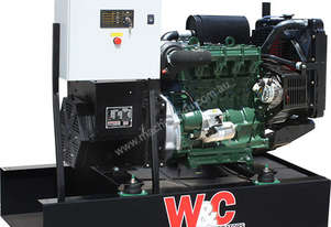 17.7kVA, Single Phase, Lister Petter Open Standby Generator