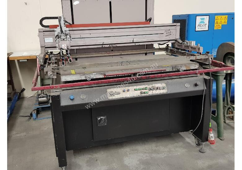 AGFA JETI 3348 SOLV AUTOMATIC SCREEN PRINTER 2012 - ONLY $2,500. TRADE Your Surplus Machinery....