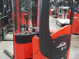Used Forklift:  E10 Genuine Preowned Linde 1t - picture2' - Click to enlarge