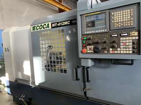 Cnc lathe ECOCA  WITH  LIVE TOOLING  - picture6' - Click to enlarge