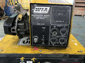 WIA MIG Welder Weldmatic Constructor DC65 3Phase 415 Volt  with WF605 Wire Feeder - picture3' - Click to enlarge