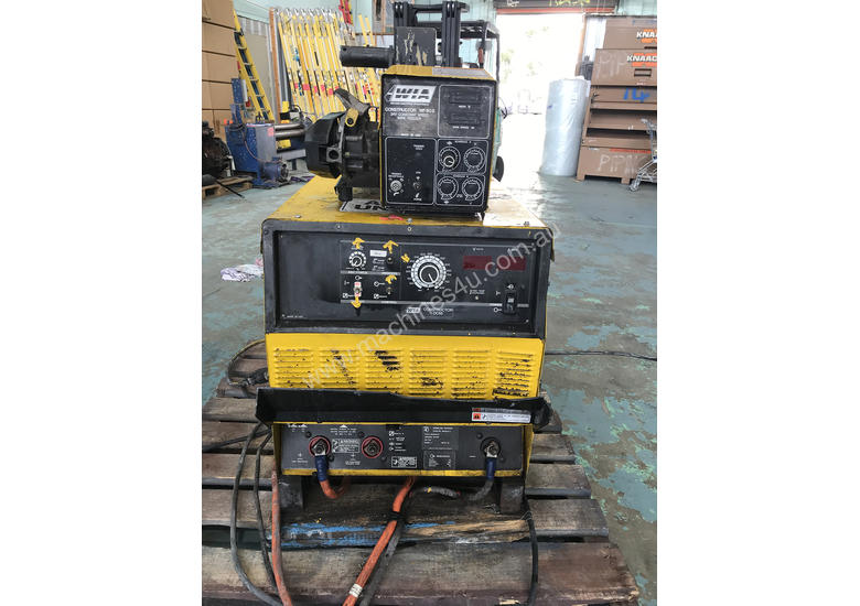 WIA MIG Welder Weldmatic Constructor DC65 3Phase 415 Volt  with WF605 Wire Feeder
