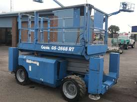 GENIE 26' RT SCISSOR LIFT - picture0' - Click to enlarge