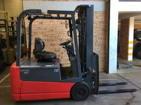Forklift Nichiyu FBT18 4.7m Container Mast 2016 New Batt Like New Performance  - picture0' - Click to enlarge