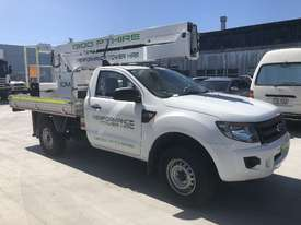 Nifty-Lift 10m Ford Ranger Ute EWP Cherry Picker Travel Tower - picture0' - Click to enlarge