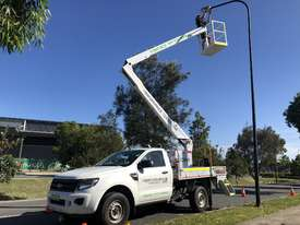 Nifty-Lift 10m Ford Ranger Ute EWP Cherry Picker Travel Tower - picture4' - Click to enlarge