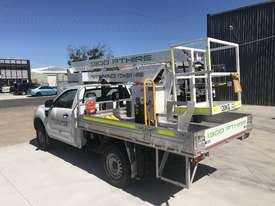 Nifty-Lift 10m Ford Ranger Ute EWP Cherry Picker Travel Tower - picture9' - Click to enlarge