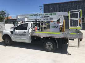 Nifty-Lift 10m Ford Ranger Ute EWP Cherry Picker Travel Tower - picture10' - Click to enlarge