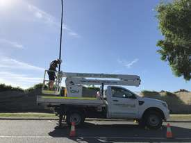 Nifty-Lift 10m Ford Ranger Ute EWP Cherry Picker Travel Tower - picture12' - Click to enlarge