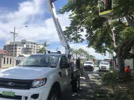 Nifty-Lift 10m Ford Ranger Ute EWP Cherry Picker Travel Tower - picture17' - Click to enlarge