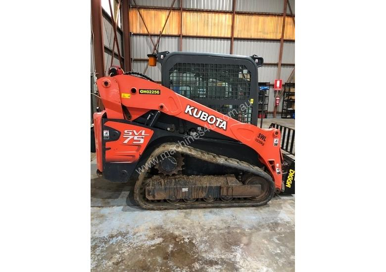 2015 Kubota SVL75 With 1330 Hours