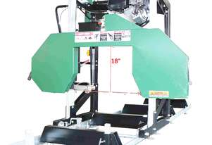 18HP Brigs and Stratton Hardwood Mills Portable Sawmill GT34 MASSIVE CLEARANCE OVER THE Blade