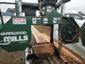 Now With 23 HP V Twin Hardwood Mills Portable Sawmill GT34 MASSIVE CLEARANCE OVER THE Blade - picture1' - Click to enlarge