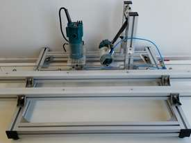 AARON 45 Degree Angle Inclined Finger pull Edge Trimming Machine AETM-1 - picture2' - Click to enlarge