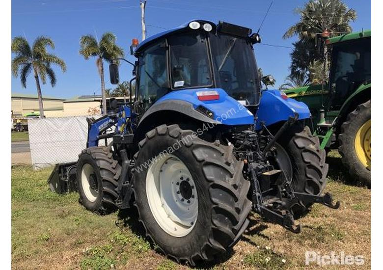 Used New Holland 2017 New Holland T5 115 Electro Command