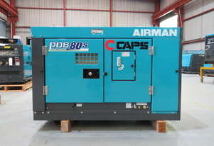 AIRMAN PDS80S-5C5 80cfm Portable Diesel Air Compressor