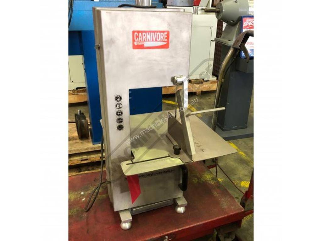 Used Carnivore Mb 210 Meat Bone Band Saw Stainless Steel