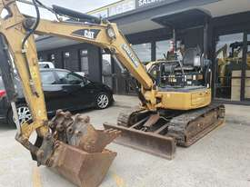 USED 2007 CAT 303CCR EXCAVATOR 3.5T + BUCKETS & AUGER DRIVE - picture0' - Click to enlarge