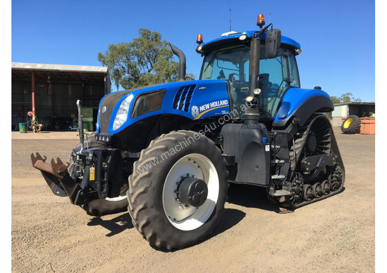 New Holland T8-435 Tracked Tractor