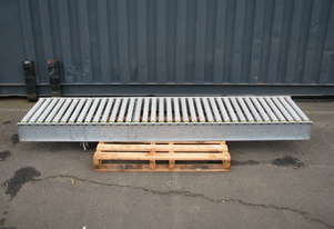 Motorised Roller Conveyor - 2.7m long