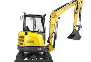New Wacker Neuson EZ36 Excavator Quick Hitch (VDS Optional)