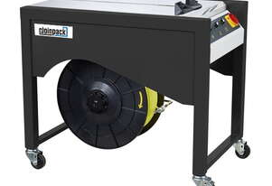 XS-1000 DC DIRECT SEMI AUTO STRAPPING MACHINE WITH EXTENDABLE LEGS