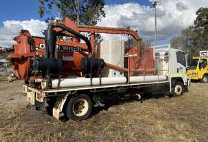 Vacuum truck with Ditch Witch FX50