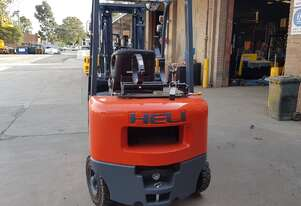 Heli CPQYD25 2500kg Dual Fuel Container Mast Forklift with 360 deg rotator