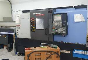 2014 Doosan Lynx-220LSYC Twin Spindle Turn Mill CNC Lathe