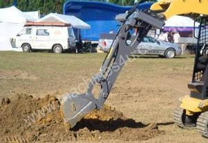 Back hoe Attachment for Bobcat loaders Non Slewing