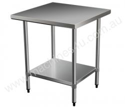 Brayco 2424 Flat Top Stainless Steel Bench(610mmWx