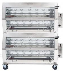 Semak M72 Manual Electric Rotisserie - 72 Bird Cap