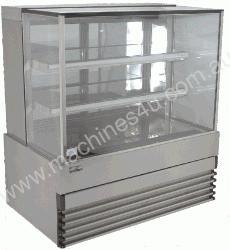 Koldtech KTSQRCD15 1500mm with 3 Fixed Shelves Squ