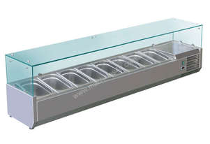 BAIN MARIE, 8 X 1/3 GN TRAYS INCLUDED VRX-1800T