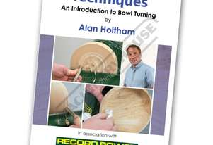 RPDVD08 Woodturning Techniques DVD - Introduction to Bowl Turning with Alan Holtham Duration - 66min