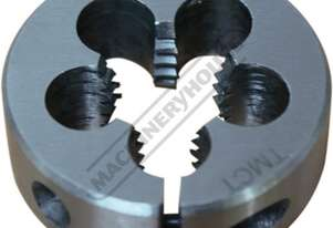 T908 HSS Button Die - Metric M8 x 1.25mm
