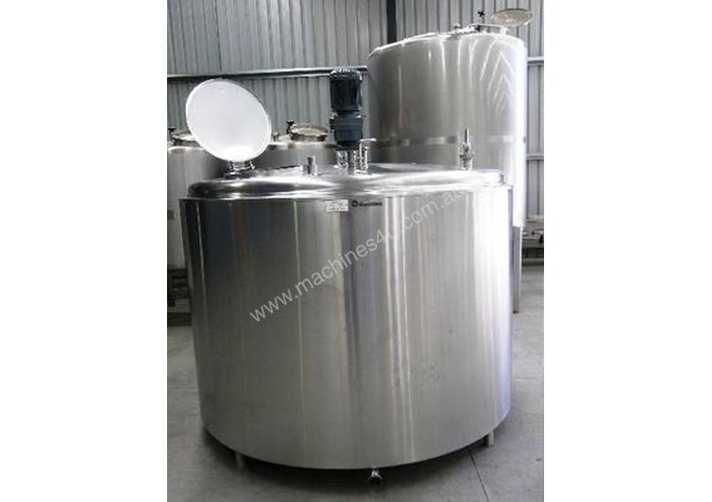 Stainless Steel Tank 3,800lt Jacketed