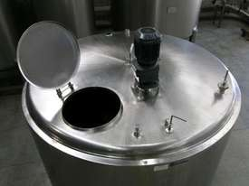 Stainless Steel Tank 3,800lt Jacketed - picture0' - Click to enlarge