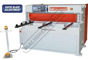 HG-460B Hydraulic NC Guillotine 1300 x 6mm Mild Steel Shearing Capacity 1-Axis Ezy-Set NC-89 Go-To C