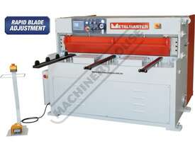 HG-460B Hydraulic NC Guillotine 1300 x 6mm Mild Steel Shearing Capacity 1-Axis Ezy-Set NC-89 Control - picture0' - Click to enlarge